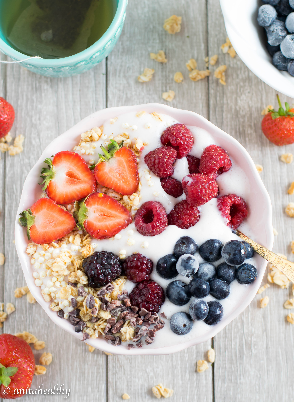 Fluff de morango | Anita Healthy