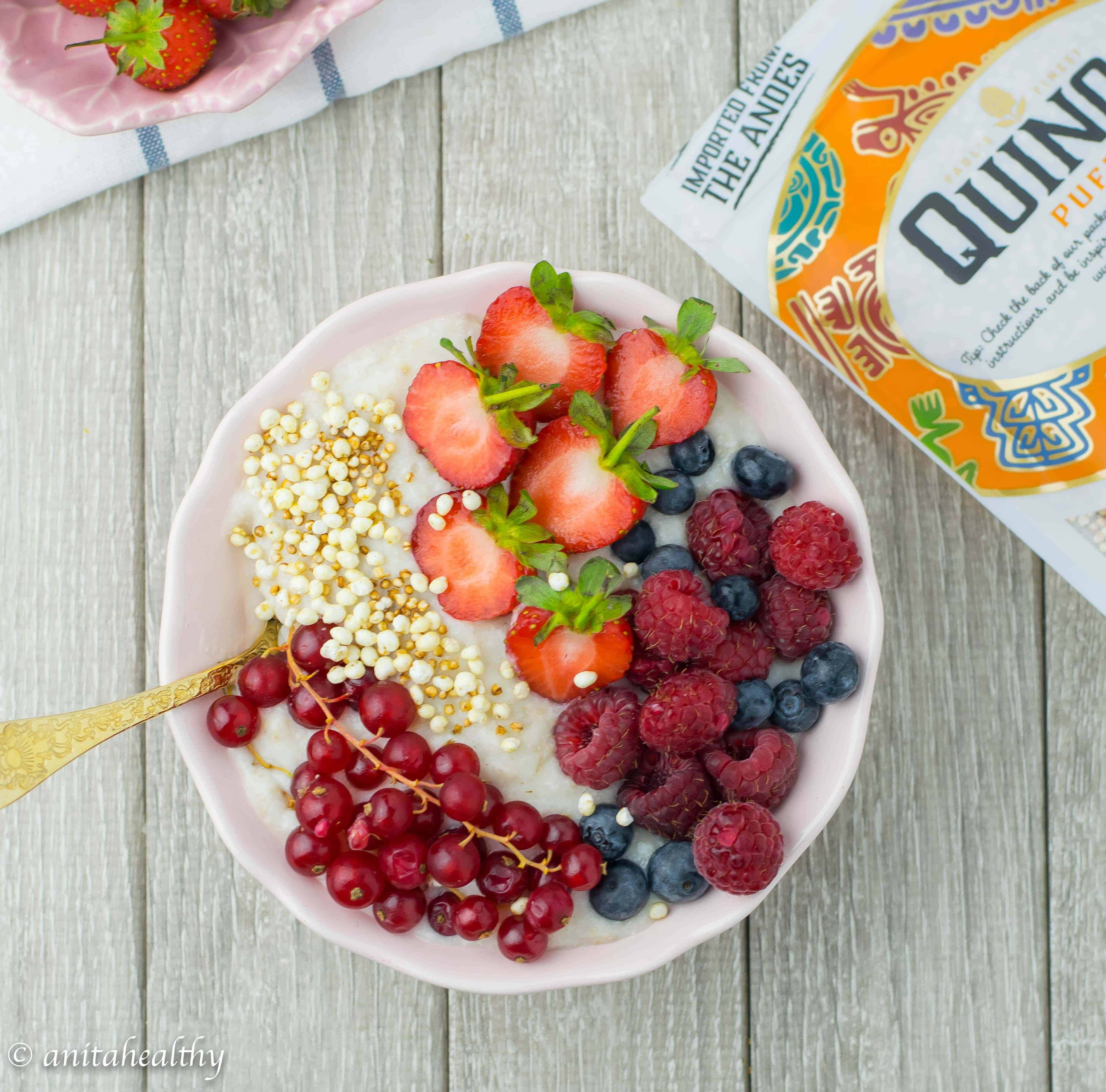 Papas de aveia Proteicas | Anita Healthy