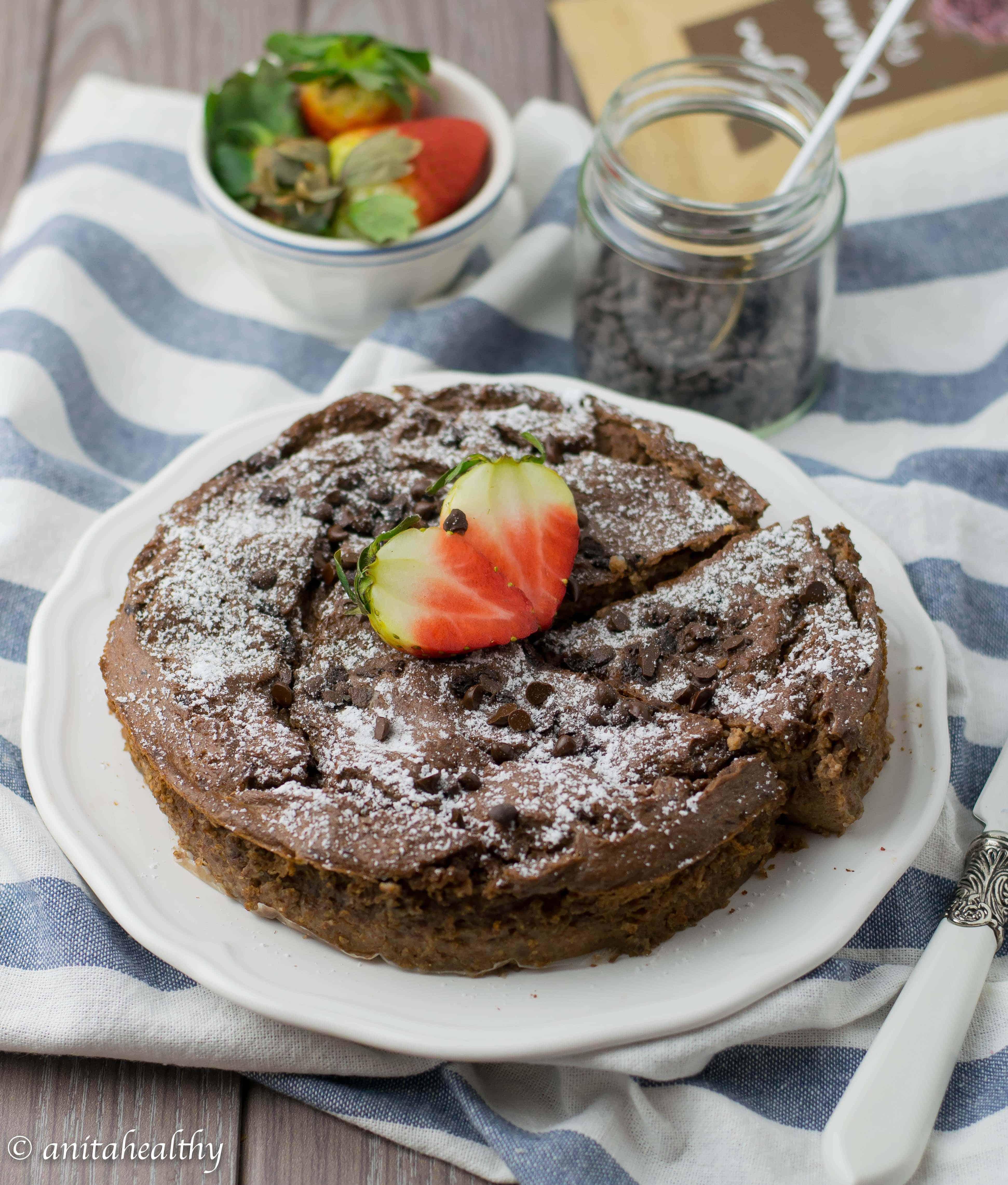 Bolo Pudim de Chocolate | Anita Healthy