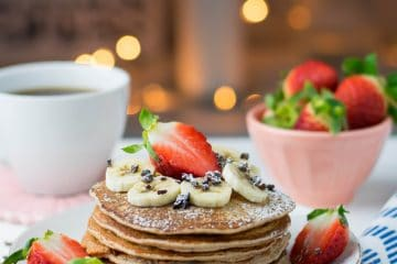 Panquecas Simples e Saudáveis | Anita Healthy