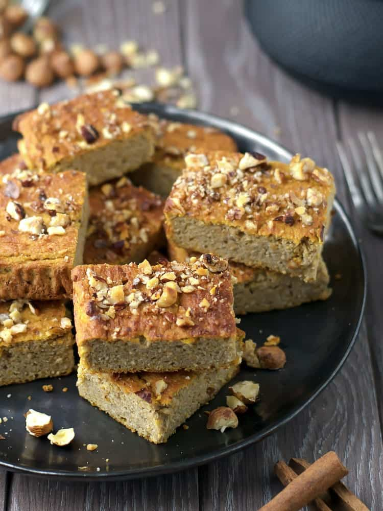 Healthy Pumpkin Bars | Anita Healthy