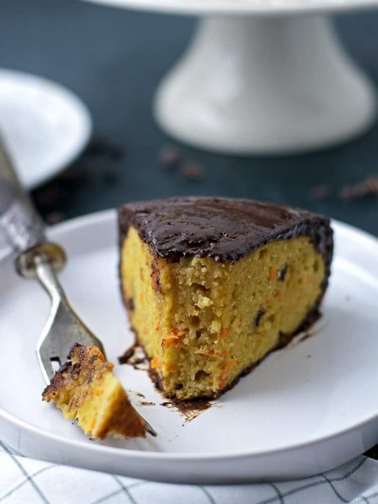 Paleo Carrot Chocolate Cake