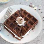 Waffles de cacau com courgette   Anita Healthy
