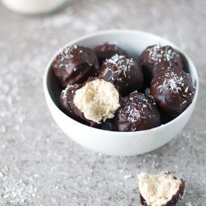 Bombons de Côco e Chocolate