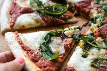 Pizza Margherita saudável