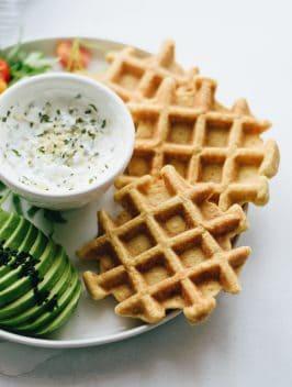 Waffles Paleo de Couve-flor