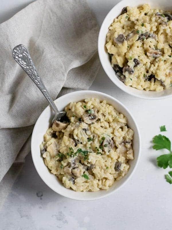 Risotto de cogumelos vegan-2