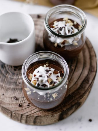 Mousse de chocolate saudavel