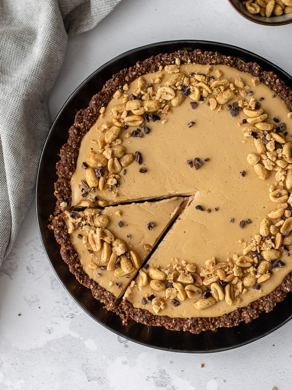 Tarte de chocolate e manteiga de amendoim