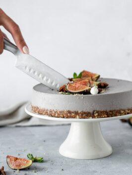 Cheesecake de Cajus e Açaí