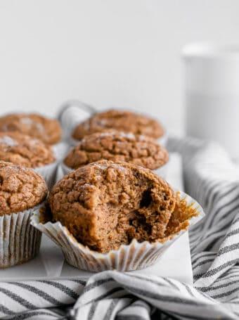 Muffins de abóbora e nozes