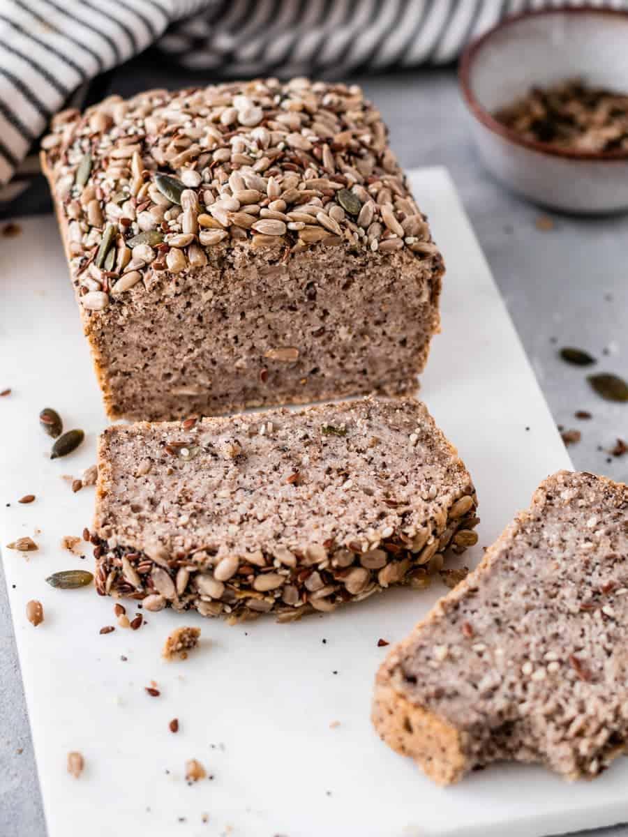 Pão de trigo sarraceno rápido
