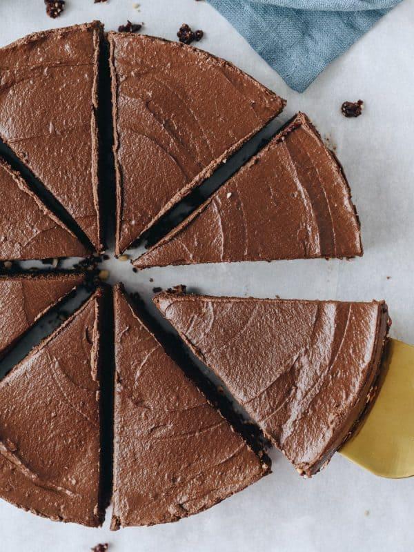 Tarte de chocolate rapida