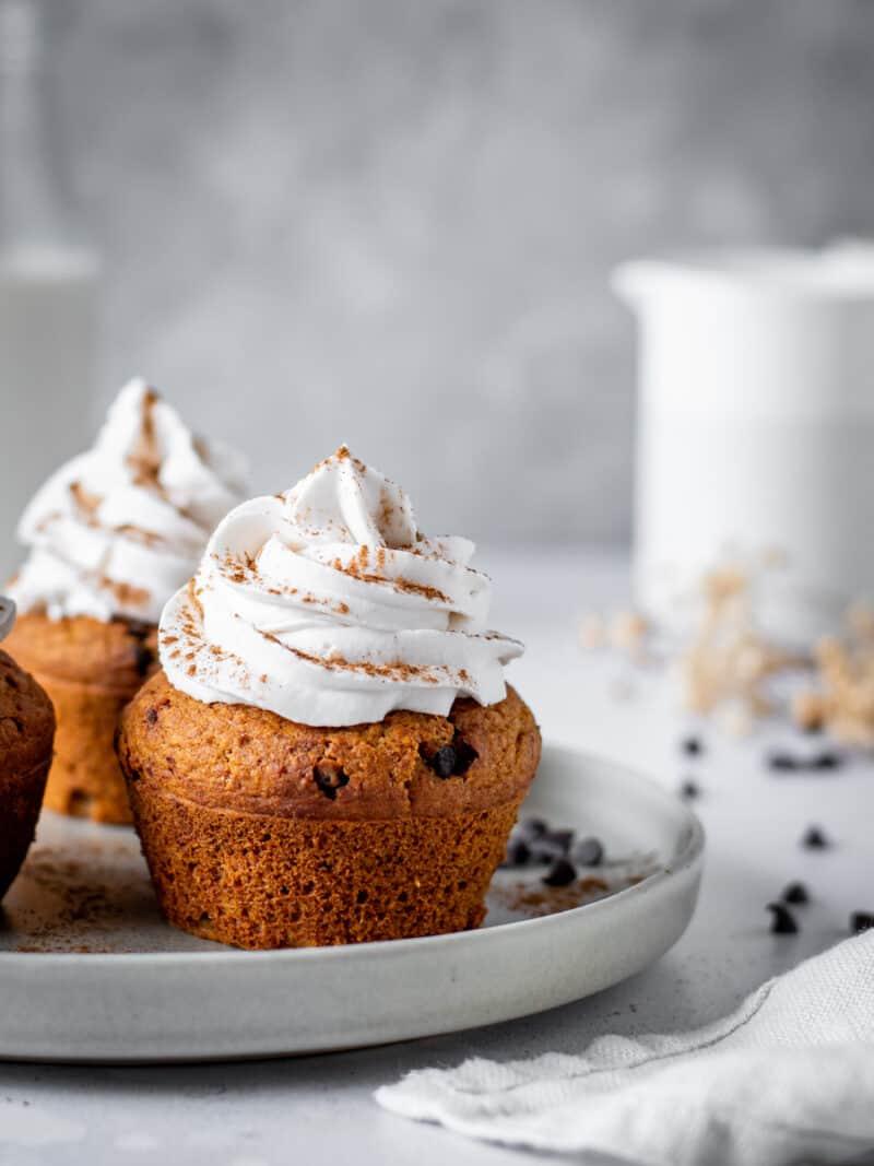 Muffins saudaveis de abobora