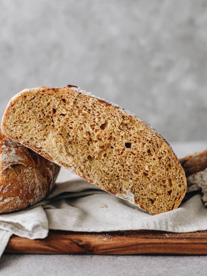 Pão caseiro de abobora