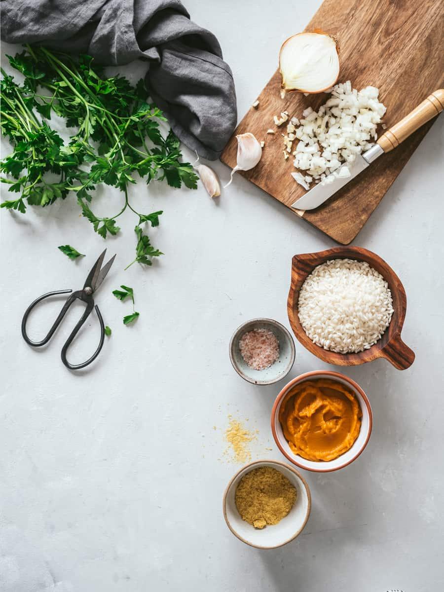 Risoto ingredientes